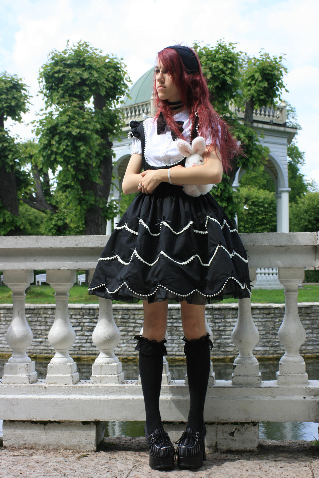 Gothic Lolita 12 by Kechake-stock