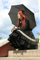 Gothic Lolita 17 by Kechake-stock