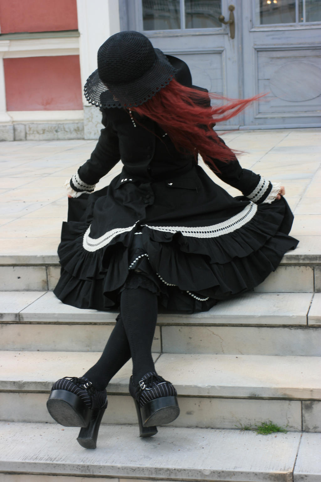 Gothic Lolita 27 by Kechake-stock