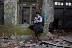 New Gothic Lolita 12 by Kechake-stock