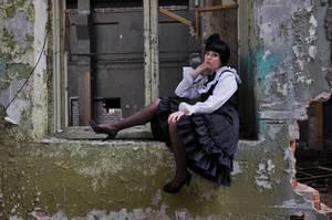 New Gothic Lolita 16 by Kechake-stock