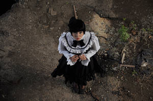 New Gothic Lolita 17 by Kechake-stock