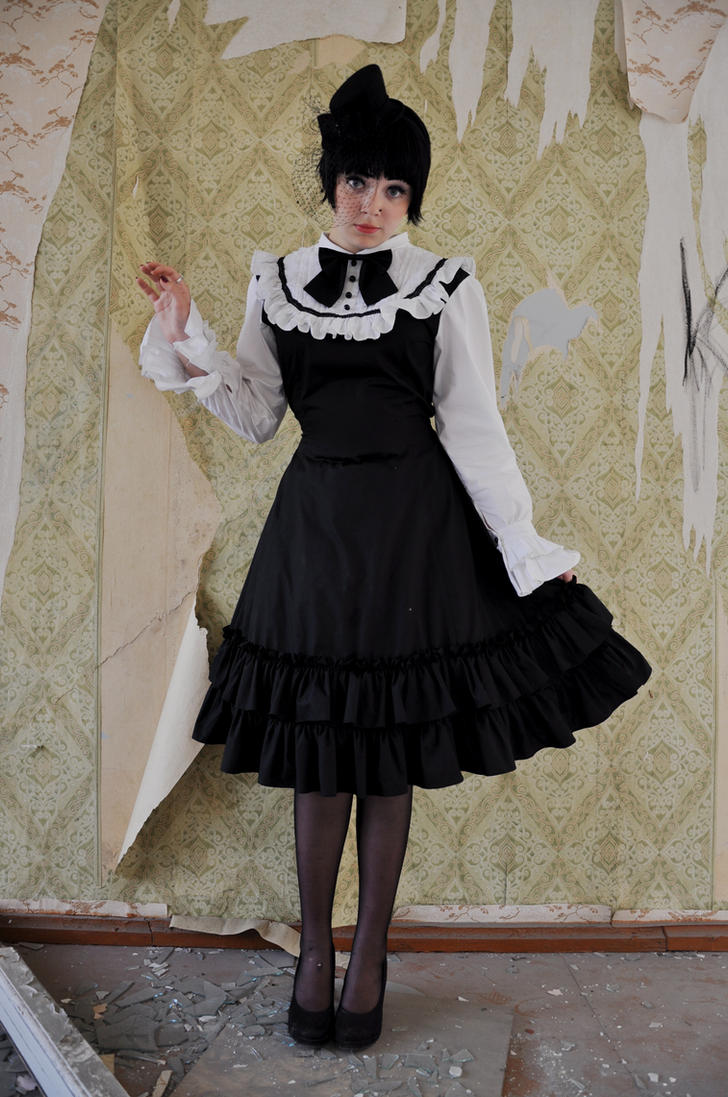 New Gothic Lolita 19 by Kechake-stock