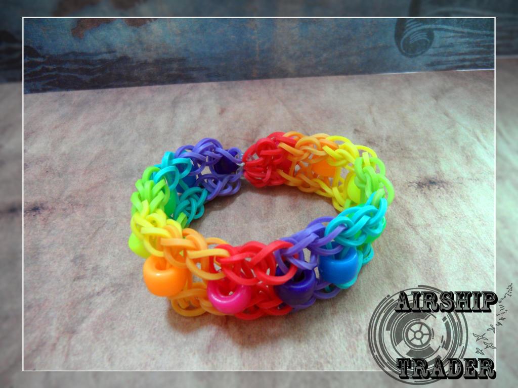 Rainbow bracelet by airship trader d6ll39h