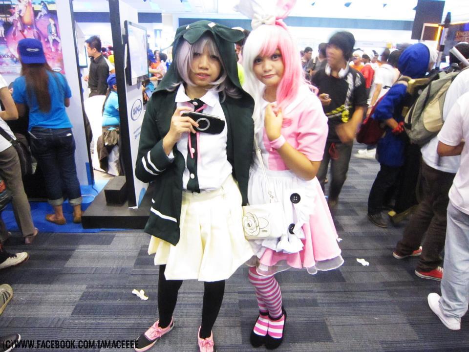 chiaki dangan ronpa cosplay - photo #30