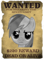 Wanted - Rainbow Dash by DatBrass