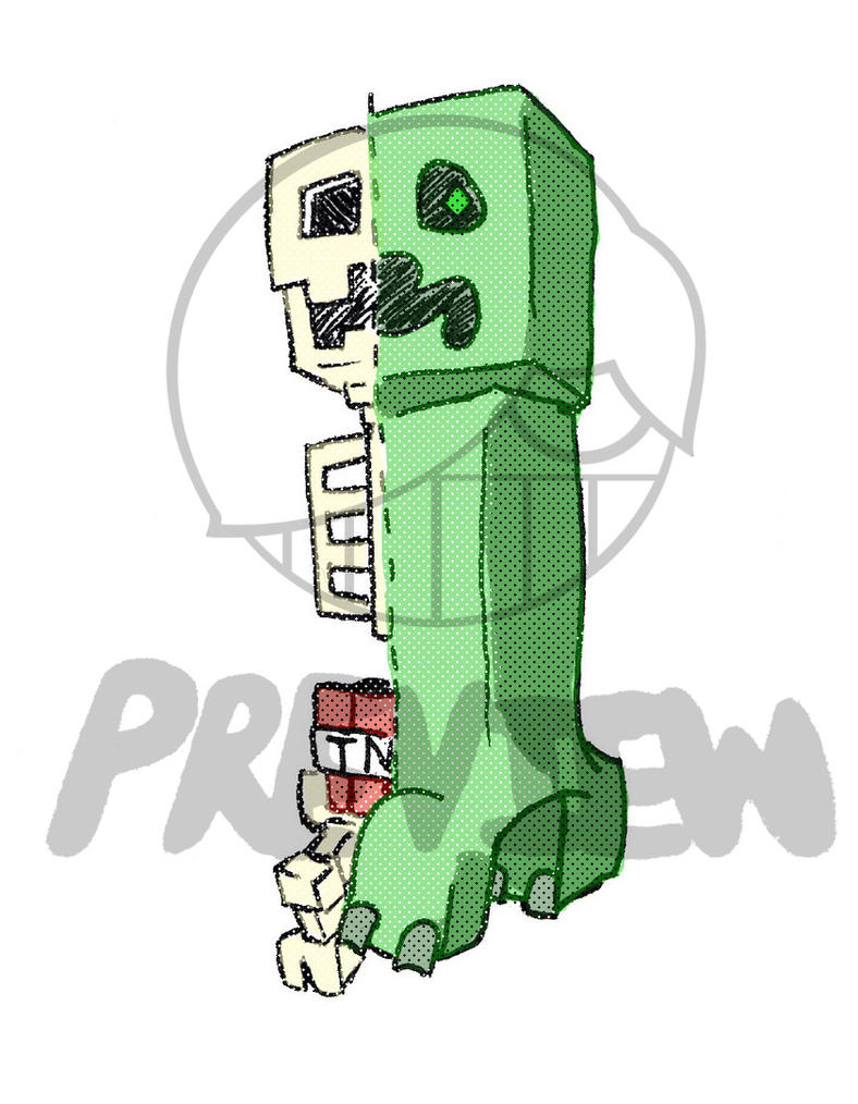 Creeper Anatomy By Cocokickz On Deviantart