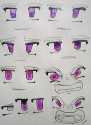 Coco's eyes study by CocoKiCKZ