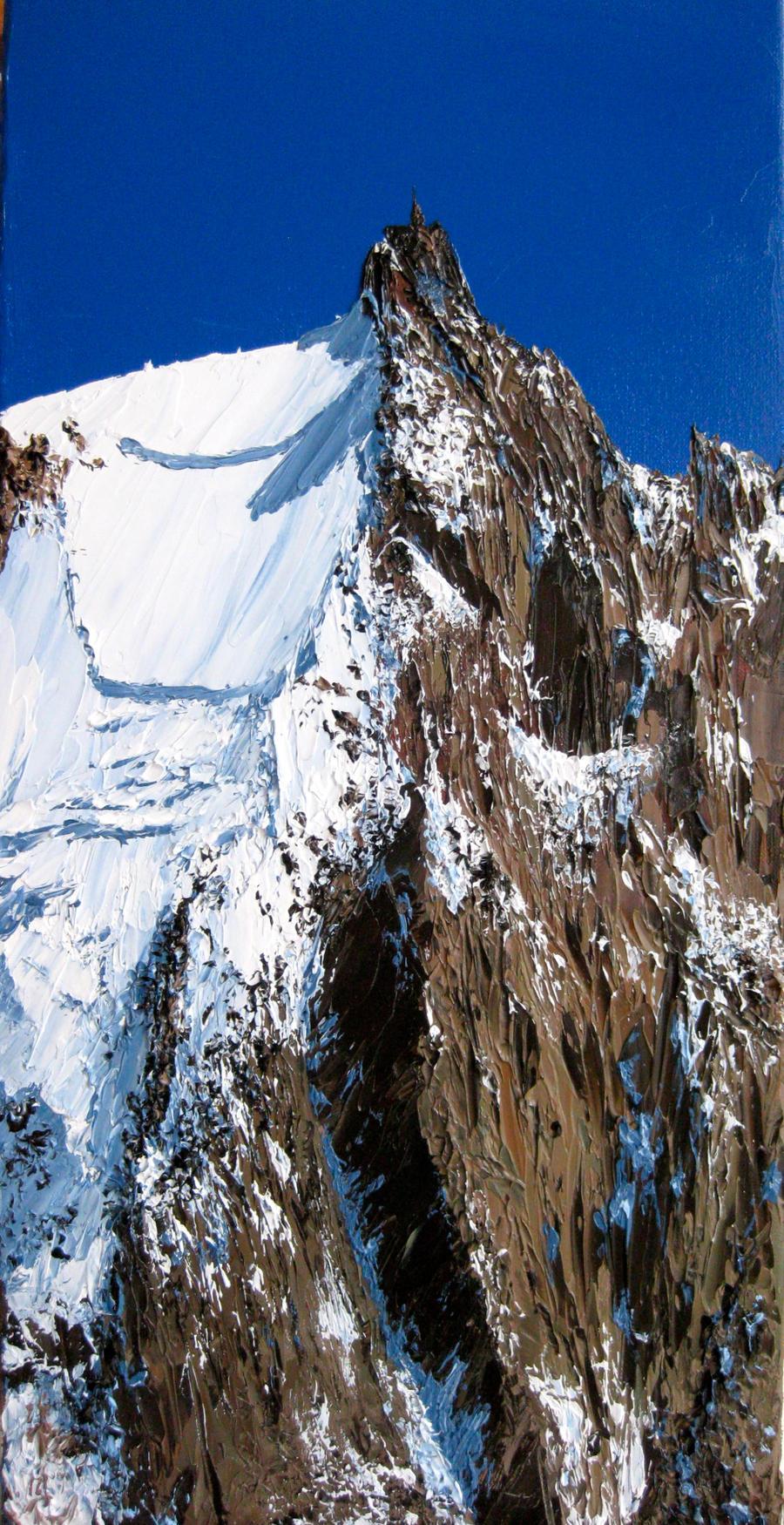Aiguille du Midi by S-NOBLE