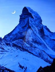 Moonlight Matterhorn