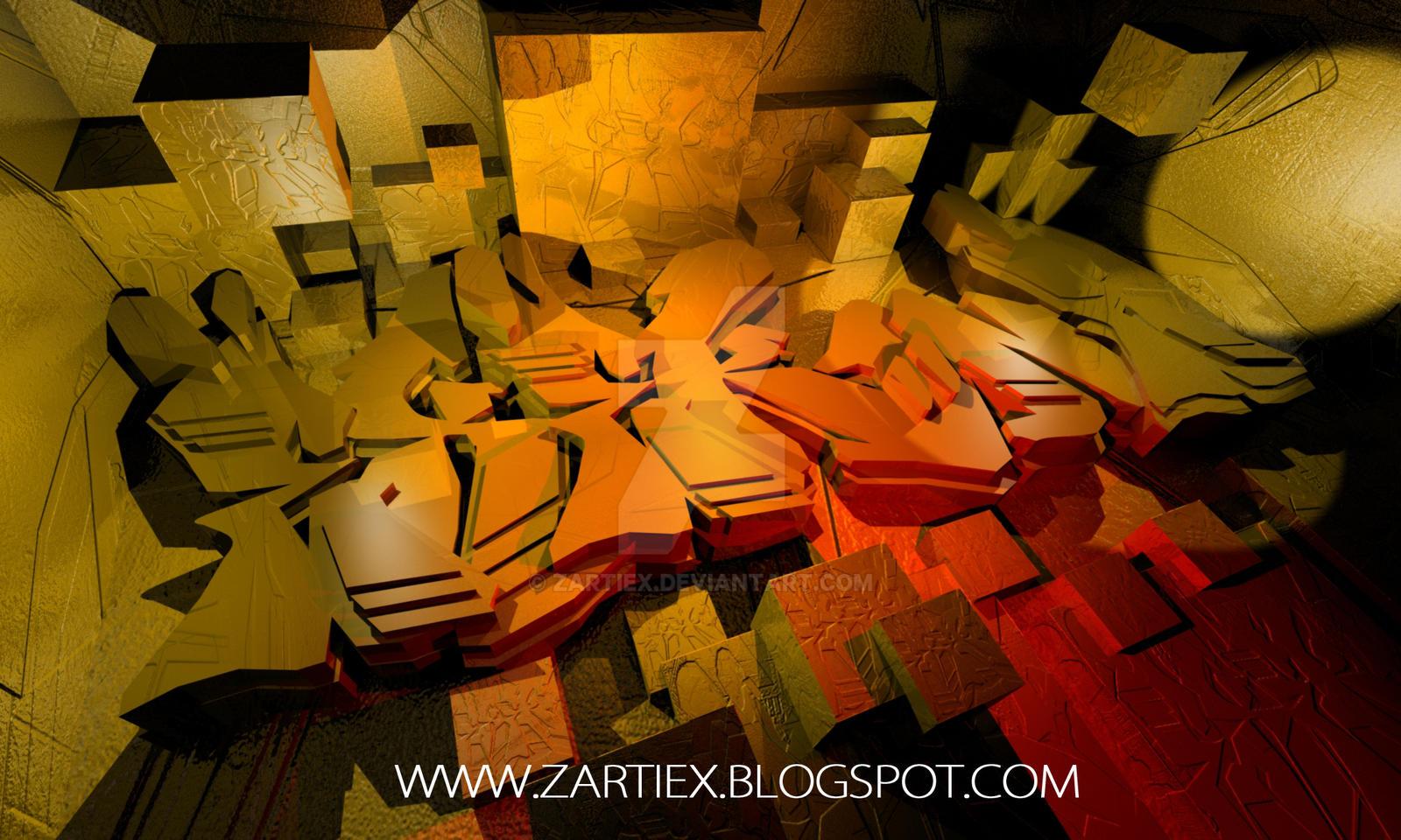 Graffiti creator image -  Graffiti Creator Graffiti Madrid Letters 3d Za By Zartiex