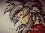 Goku SSJ4 Dragon Ball Zartiex Drawing Wallpapers
