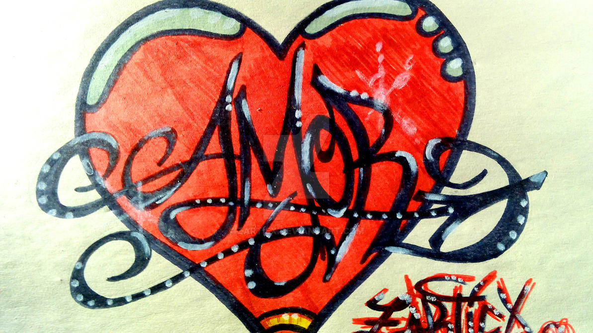 Dibujos De Amor A Lapiz Faciles De Hacer Pasoapaso By Zartiex On