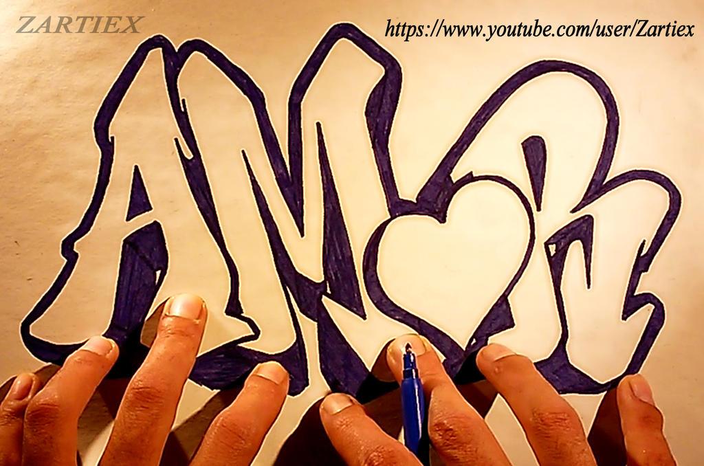 Tattoo Ideas , Tattoos Fonts 3D , Graffiti Fonts 3 by Zartiex
