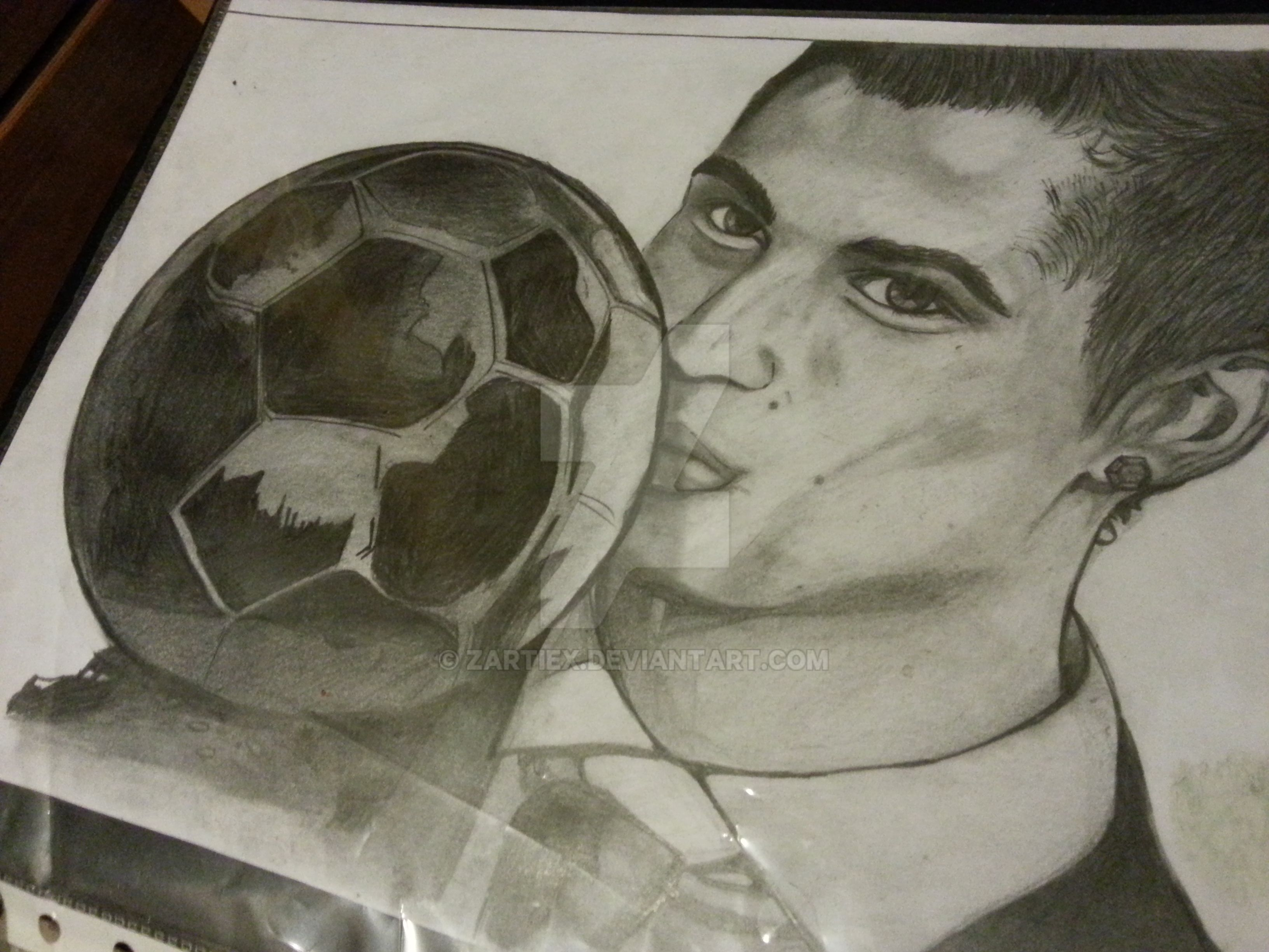 Dibujo De Cristiano Ronaldo Para Colorear Dibujos Para Colorear
