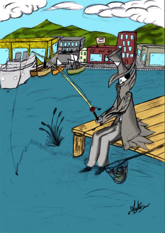 Les roulettes ridicules sur la pêche avec les femmes