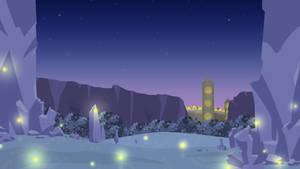 A Tower at Night