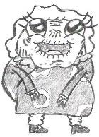 Little Old Lady Sketch by SonicXfan007