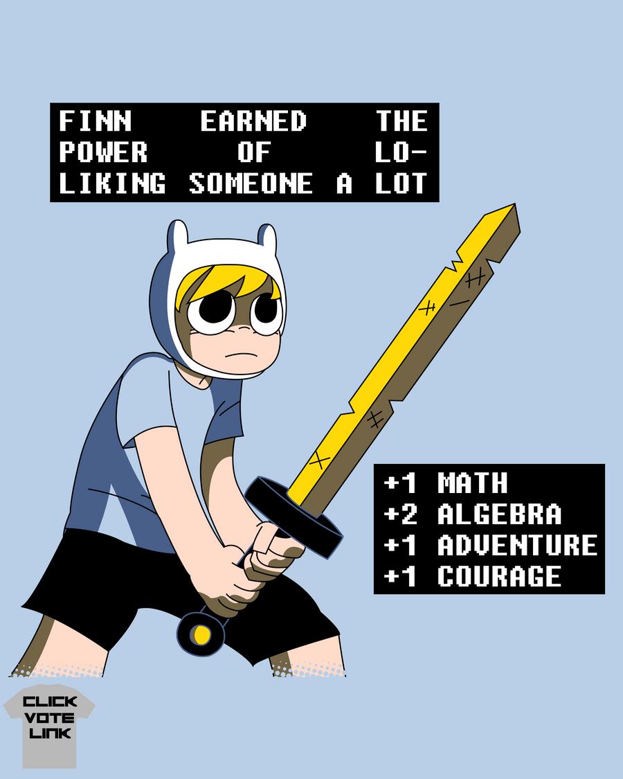 Finn VS The World of Ooo by SonicXfan007