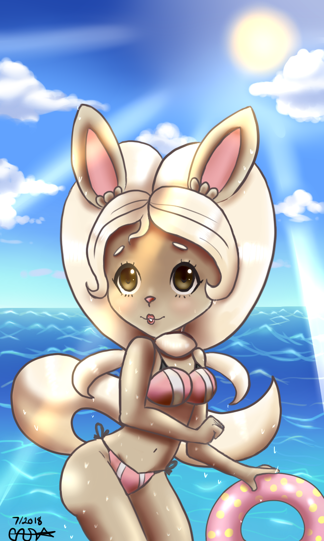 Beach Time! : Hot Summer's Day by BasicVanilla