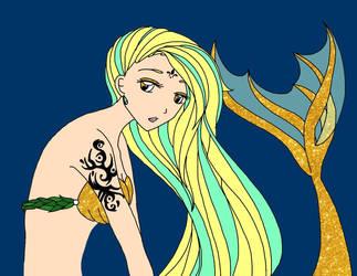 The Golden Mermaid by LydiaKo