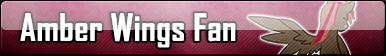 Amber Wings | Fan Button by BloodLover2222