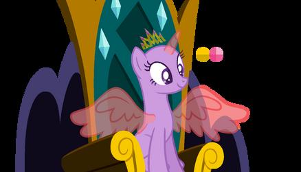 MLP Base 6 - I'm a Princess (wings open)