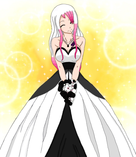 Fairy Wedding: NEW 269 FAIRY TAIL LUCY IN WEDDING DRESS