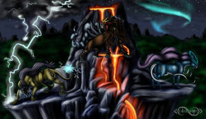 The Legendary Beasts by Legend13
