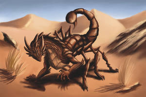 Scorpion Dragon by Legend13