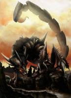 Draco-scorpion version 3 by Legend13
