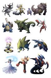 Mega Evolutions Mega Set