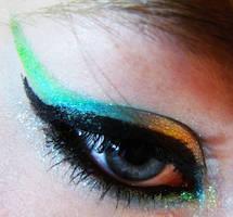 My makeup by XxMissingnissiMxX