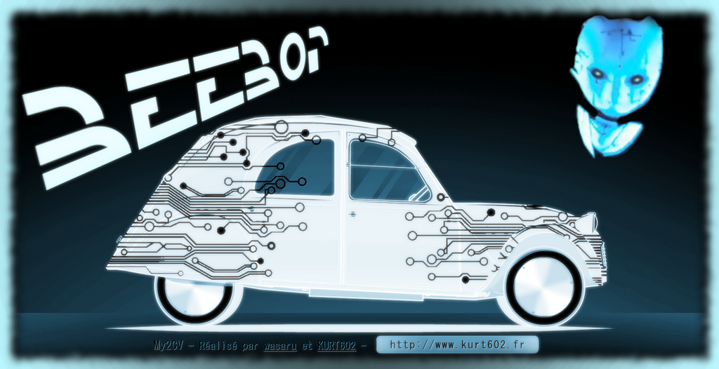 Beebop's 2CV by truemouse