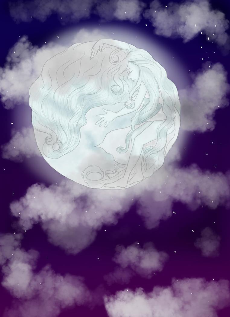 Full Moon by x0xallyx0xx