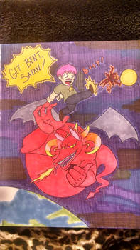 Hubby Inspirations 1- Kicking Satan