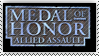 Medal of Honor AA stamp by DaniBlueStar