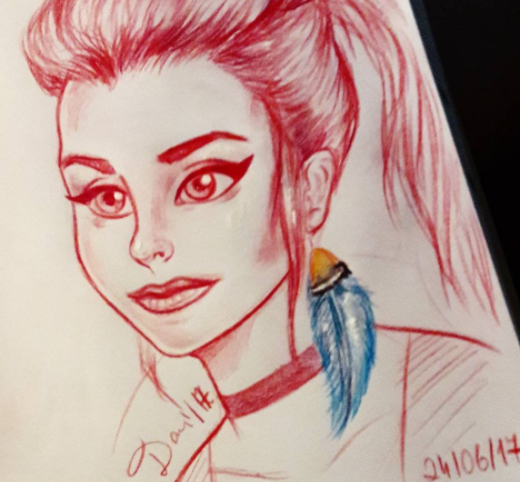 Rachel Amber sketch