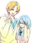 kise and kuroko female