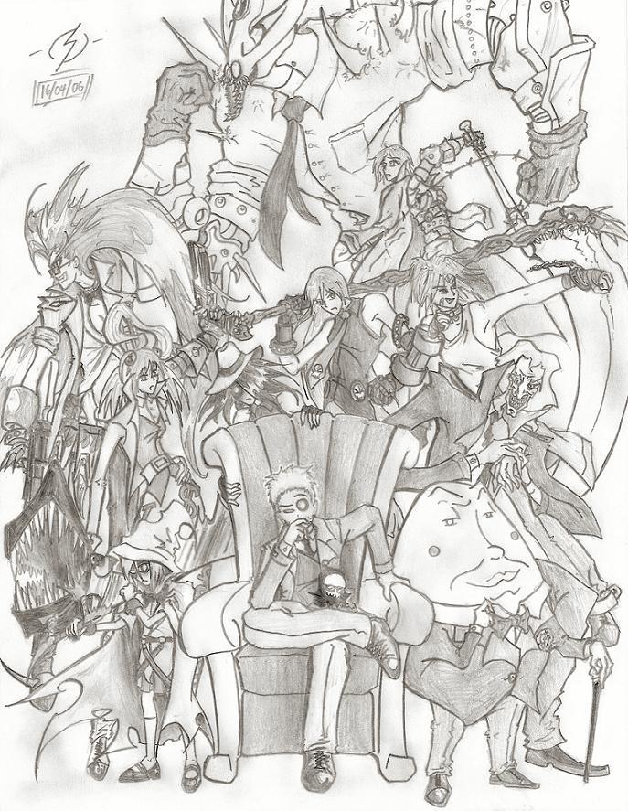 Endlings Mafia by Psychorror