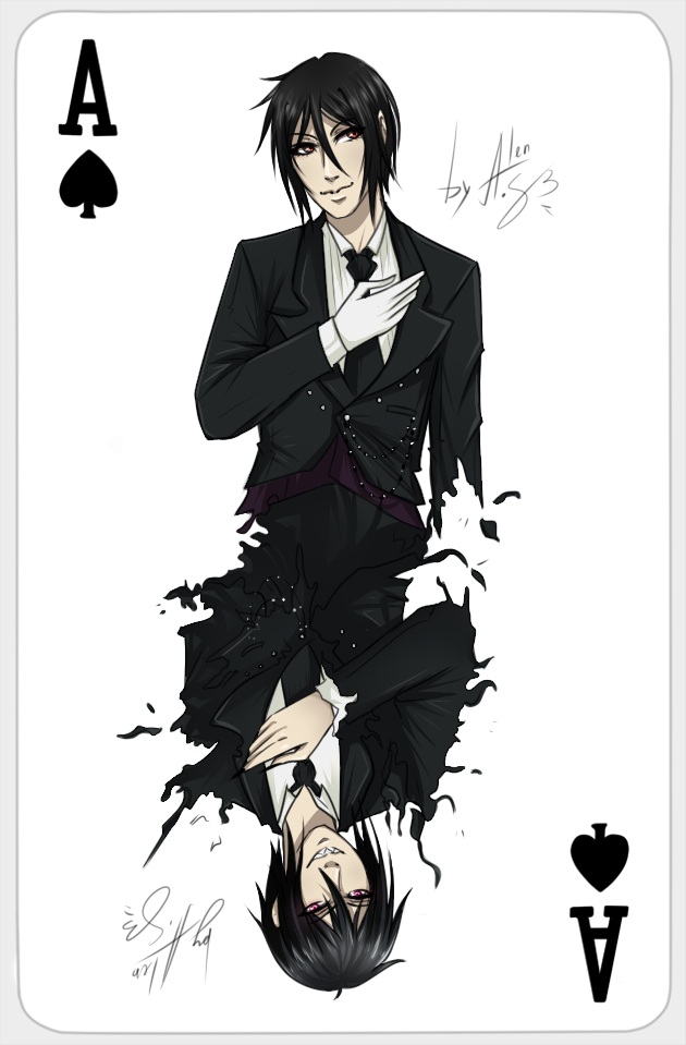 Ace of Spades - Sebastian by Alen-AS