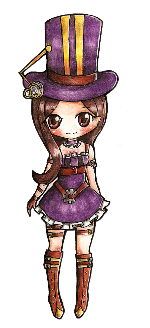 Lol Caitlyn chibi by Mittsune on DeviantArt