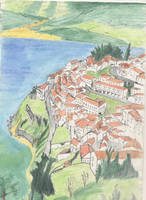 Italy Seaside Town 2 by DubiousLogik