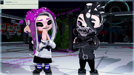 Ask the Girls: (Answers #8) Time with the SquidSis