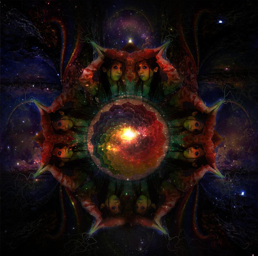 Dark Psychedelic Womb by Djedi-Miriji on DeviantArt