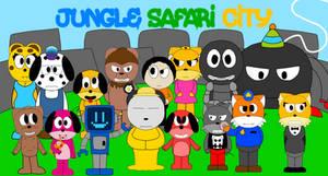 Jungle Safari City
