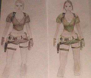 Lara Croft: Tomb Raider Legend by blue-diamant