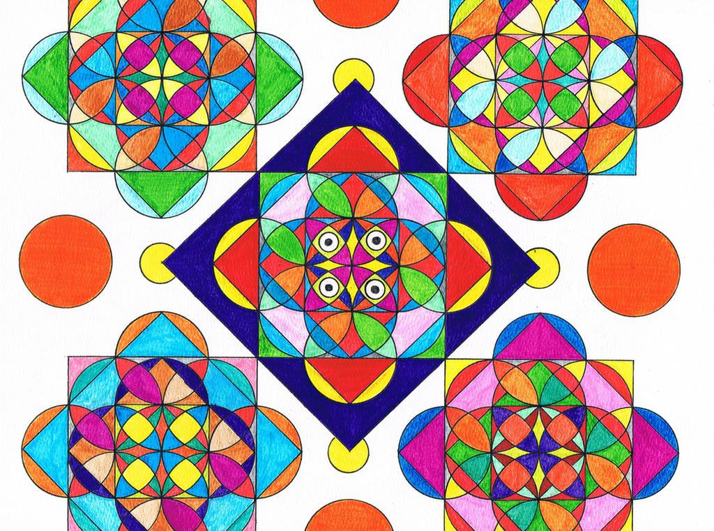 Shapes Designs Art : Geometric shape by koxnas on deviantart