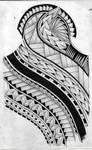 polynesian inspired tattoo design