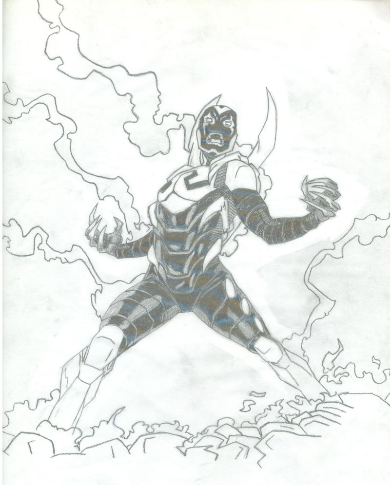 Beetle sketch by gigglewhatsit on deviantart for Blue beetle coloring pages